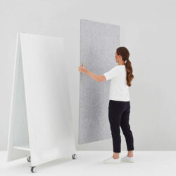 Moving Acoustic Panel