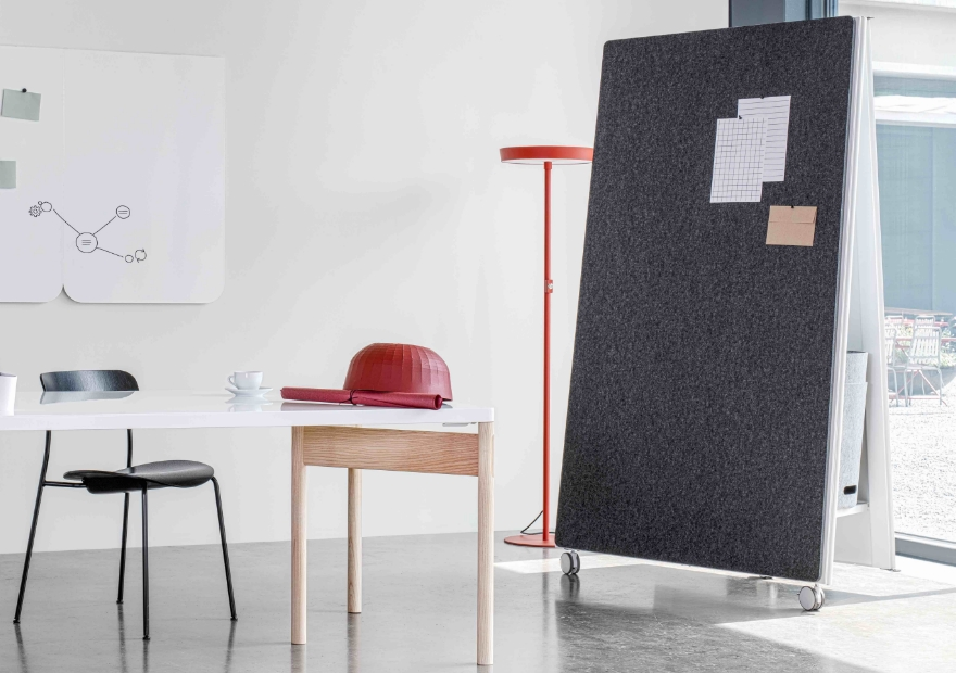 Focus single workspace_Moving Wall_Moving Table_Moving Pinboard Acoustic Panel_Moving Panel_2_880x620