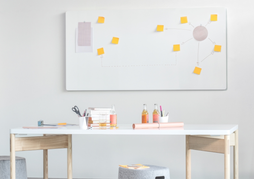 Focus single workspace_Moving Wall_Moving Table_Moving Pinboard Acoustic Panel_Moving Panel_3_880x620